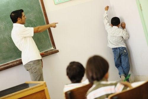Abituali strategie di punizioni in classe