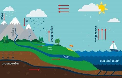 Come spiegare il ciclo dell'acqua ai bambini