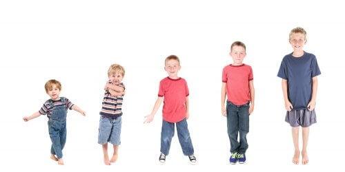 Le fasi del processo di maturazione dei vostri figli