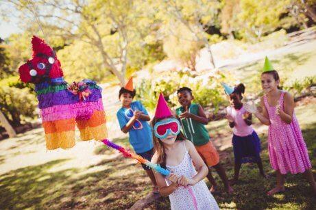 Giochi in feste per bambini