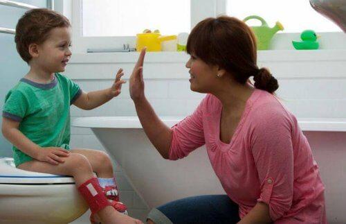 sostenere i progressi dei bambini contro la enuresi
