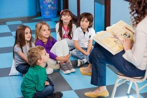 lettura in classe