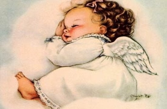 bambino angelo