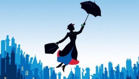 Mary Poppins, uno dei film per bambini basati in libri