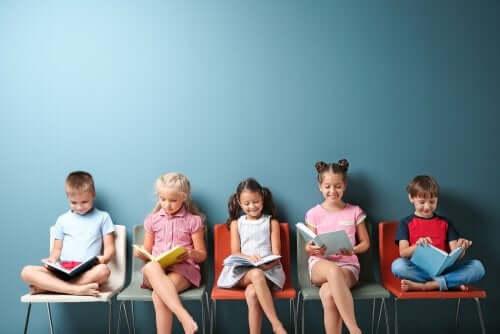 Pedagogia per bambini a scuola