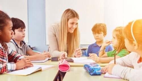 Pedagogia infantile in classe