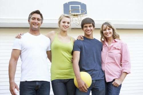 Sport in famiglia pallacanestro