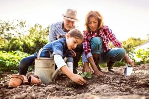 Il ruolo dei nonni nella famiglia e nella società