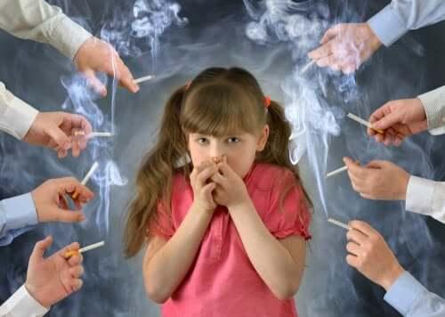 Gli effetti del tabacco sui bambini