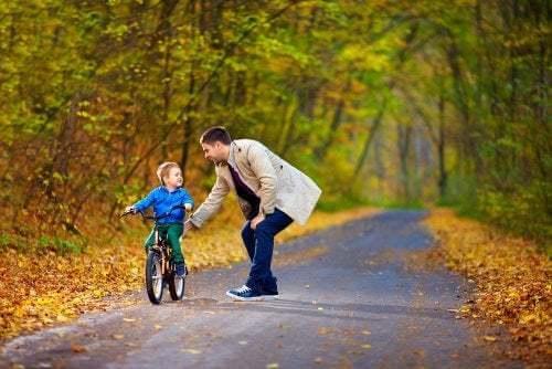 Bambino con mentalità volta alla crescita
