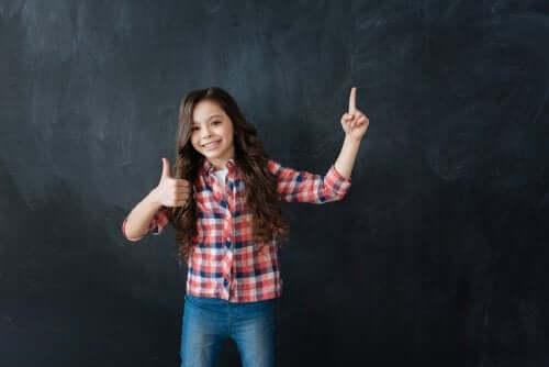 Sviluppare la resilienza nei bambini a scuola alunna