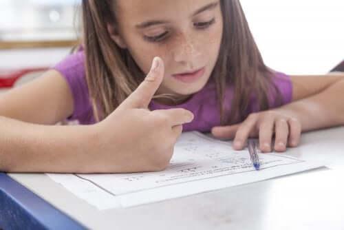 Diagnosi di discalculia nei bambini