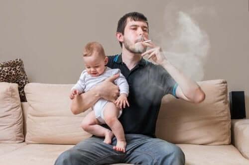 E' importante che l'ambiente domestico sia libero dal fumo del tabacco