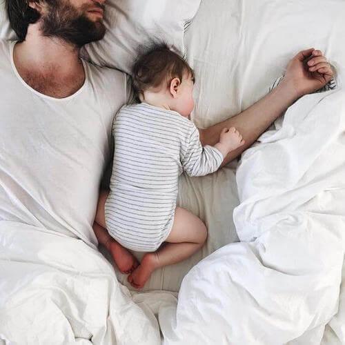 Padre e figlio intimità