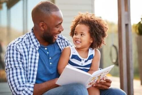 Famiglie monogenitoriali sono ad esempio una bambina e un papà
