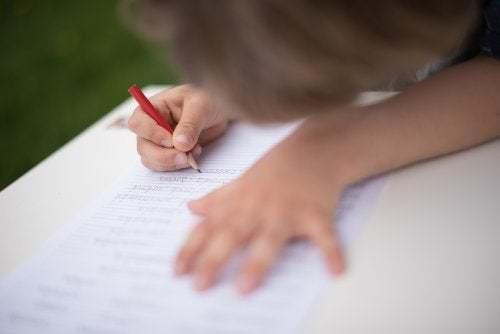 Rieducazione della scrittura a scuola