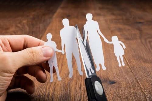 Tipi di separazione dei genitori ed effetti sui figli