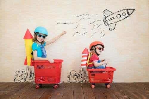 La noia stimola la creatività dei bambini