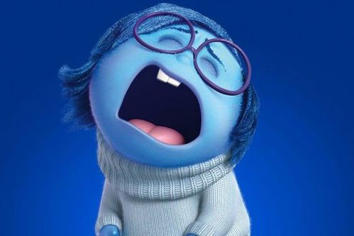 Tristezza che piange, dal film Inside Out