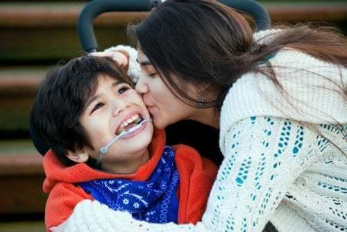 Importanza dell'affetto per i bambini diversamente abili
