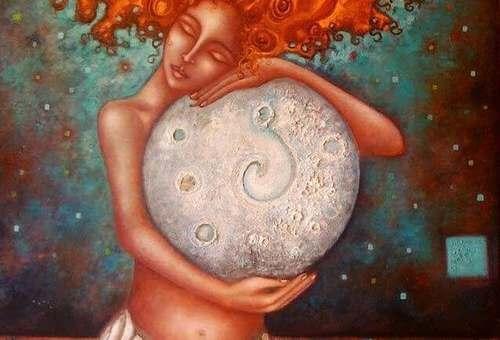 La luna e la donna