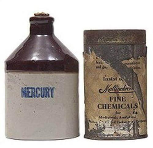 Bottiglia di mercurio, un metodo anticoncezionale nell'antichità