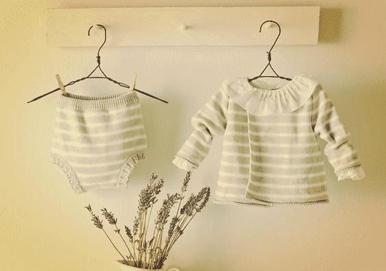 I piccoli vestiti di bebè saranno fonte di nostalgia
