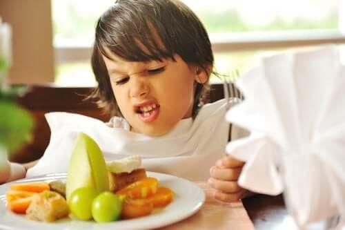 Il disturbo da alimentazione selettiva durante l'infanzia