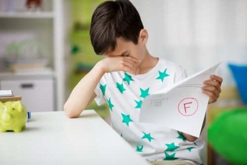 sono molti i motivi che possono determinare il fallimento scolastico