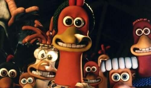 Galline in fuga è il più grande successo tra i film per bambini realizzati a passo uno