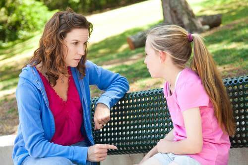 Parlare con una bambina