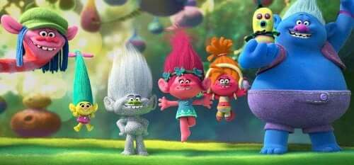 Trolls è uno dei più famosi film per bambini ispirati a giocattoli