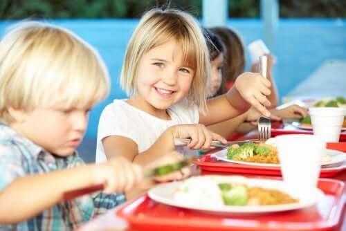 Alimentazione nelle mense scolastiche