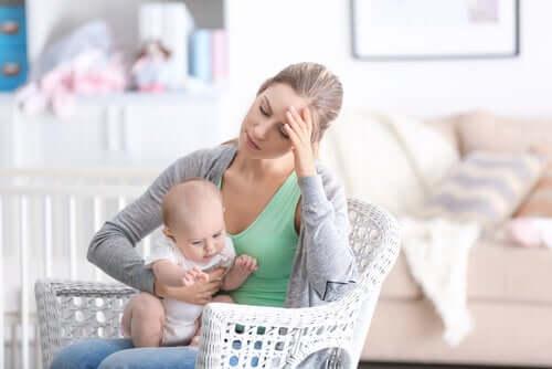 le conseguenze della depressione materna possono ricadere anche sui figli