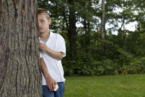 Bambini timidi e introversi