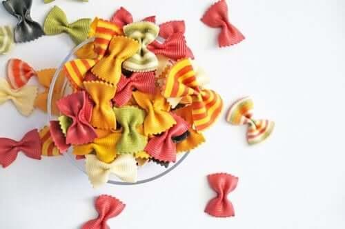 la pasta può rivelarsi molto utile anche al di fuori dei pasti