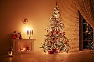 Idee per decorare il soggiorno a Natale