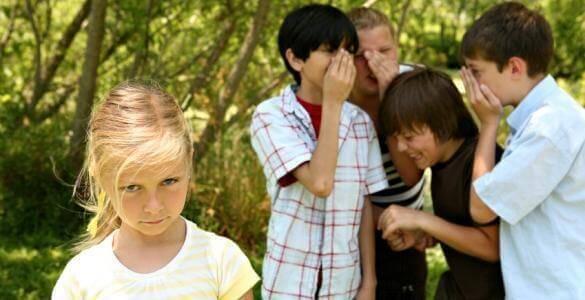 quasi tutti i bambini, prima o poi, sono vittime di un episodio di bullismo