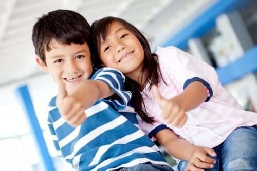 Infondere ottimismo per crescere bambini capaci