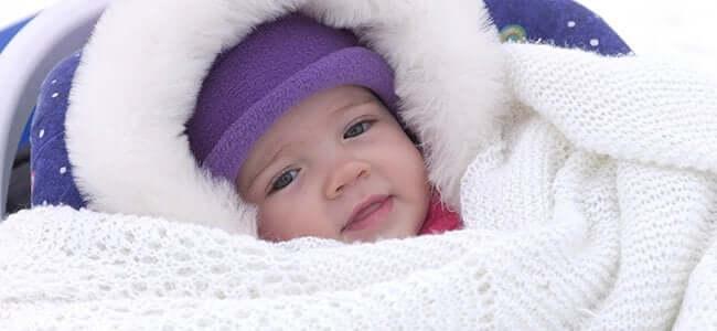 """per evitare che vostro figlio soffra il freddo, dovete vestirlo """"a cipolla"""""""