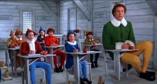 Un elfo di nome buddy film di natale per bambini.