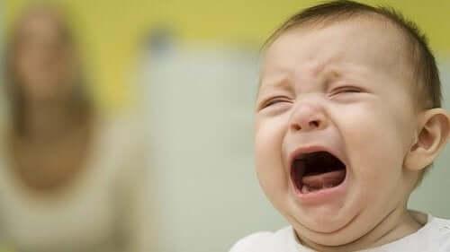 Il piccolo piange: possibili motivi