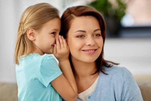 le risposte che date a vostro figlio contribuiranno a formare la sua personalità e la sua autostima