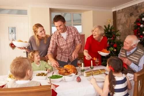Le feste natalizie sono un'ottima occasione che consente di riunire la famiglia.