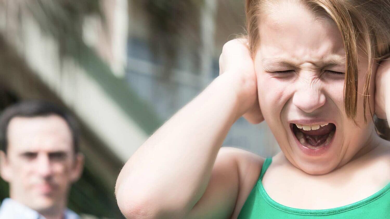 Come vede il mondo un bambino con autismo, bambina con crisi di rabbia.