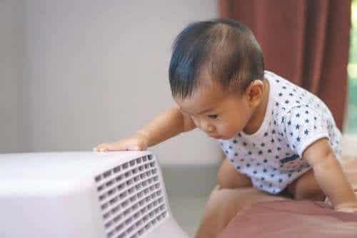Come usare l'aria condizionata quando avete un bebè