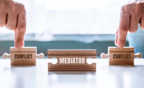 La funzione del mediatore tra due litiganti