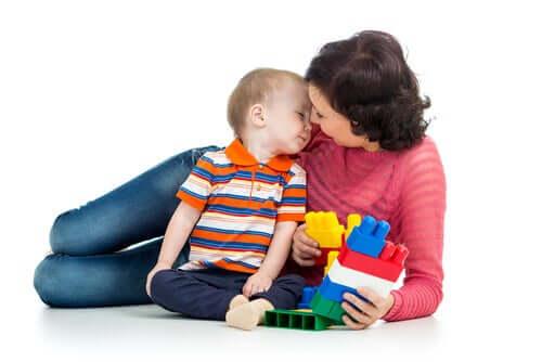 i giochi per bebè contribuiscono alla creazione del legame tra genitori e figli