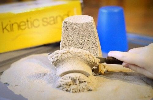 La sabbia magica