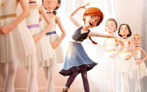 Ballerina racconta di una bambina per la quale danzare è il sogno della sua vita
